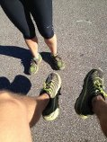 trail feet